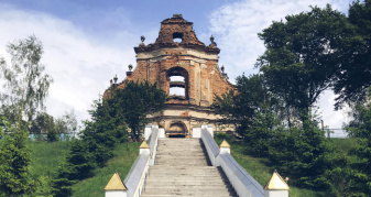 Монастир у селі Новий Загорів