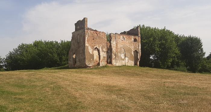 Руїни маєтку Габріелі Запольської