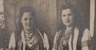 Мешканки села Топільне, 1950-ті роки