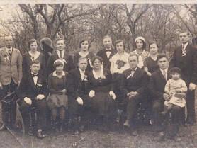 Весілля у Любомлі на 90-річному фото