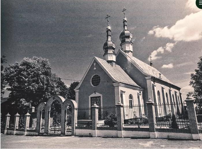 У минулому – храм євангелістів. Нині – православна церква в Купичеві.