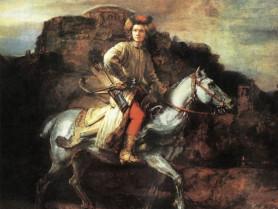 Картина «Польський вершник», Рембрандт