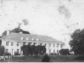 палац в роки Першої світової війни