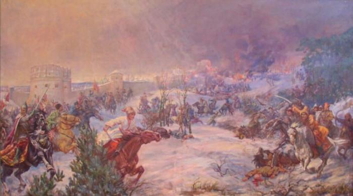 Бій під Острогом з Татарами