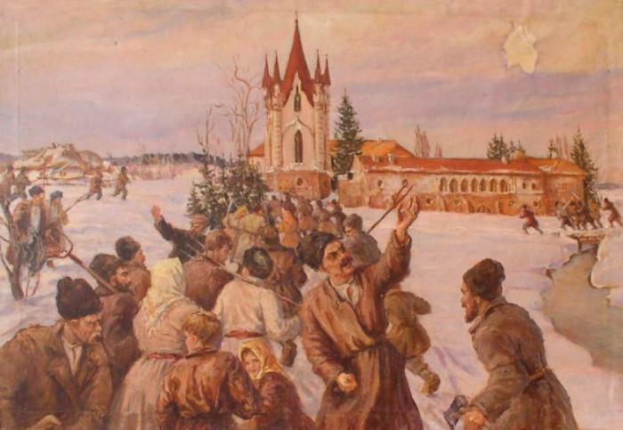 Повстання в селі Новомалин