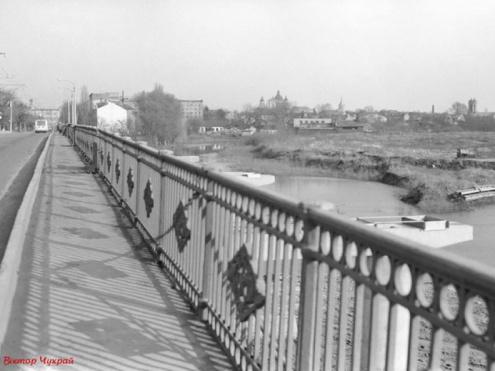 Панорама Луцька 1985 року
