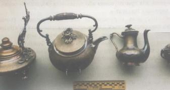 Культурні цінності - металевий чайний сервіз