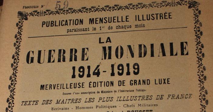 Французький журнал періоду Першої світової війни