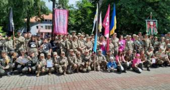 Учасники військово-патріотичної гри. Рівненщина