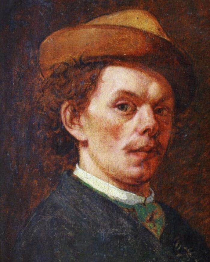 Теофіл Копистинський. Автопортрет, 1870 рік