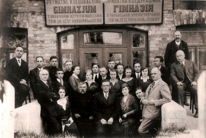 Гімназія у Луцьку, 1 червня 1993 р. Копія Лесі Бондарук