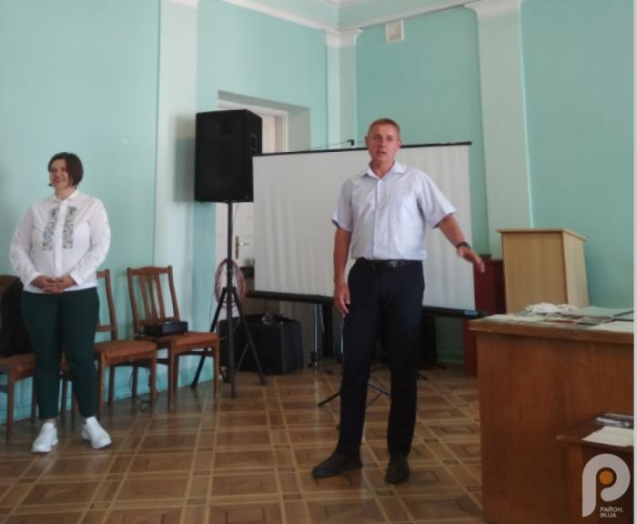 Оксана Важатко та Юрій Поліщук