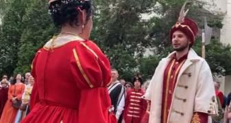 Історичне весілля Ілони Зріні та Імре Текелі