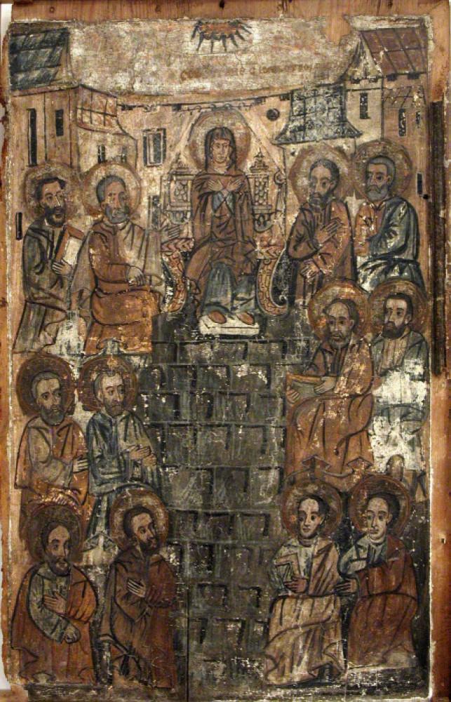 Ікона «Зішестя Святого Духа на апостолів»