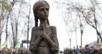 Символ пам'яті про дітей, убитих голодом під час геноциду української нації у 1932–1933