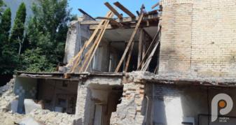 Будівля, в якій діяла Луцька українська гімназія
