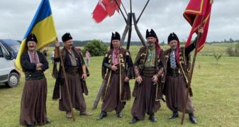 Гіркополонківські козаки вшанували пам'ять героїв Берестецької битви