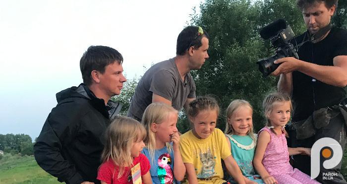 Діти щасливі - їх на дрезині покатав Дмитро Комаров