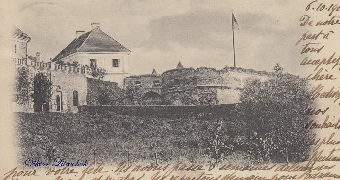 Листівка з зображенням Олицької замку з приватної колекції луцького дослідника Віктора Літевчука