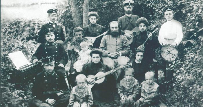 Ретрофото з села Секунь 1909 року