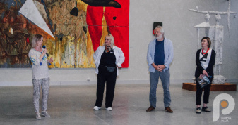 У Музеї Корсаків відкрили виставку Петра Антипа