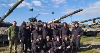 На Рівненщині завершились змагання танкових підрозділів