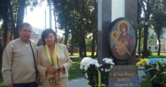 Переселенка з Холмщини Ніна Заклекта і нащадок холмщан Богдан Янович