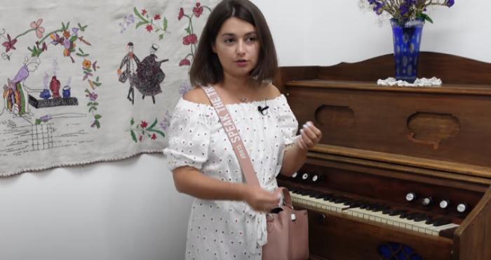 Марія Себова у музеї