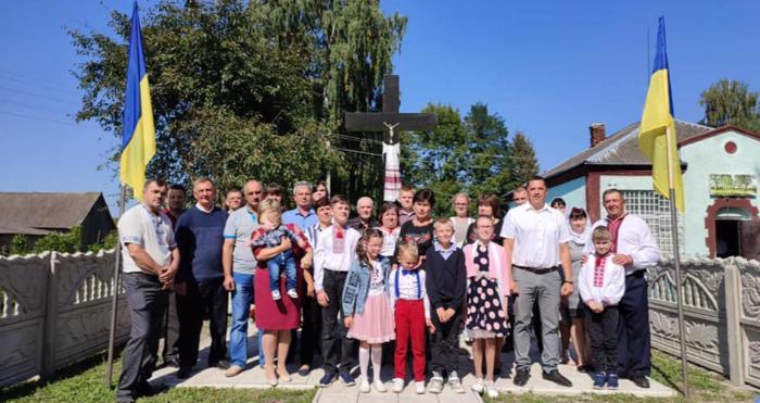 Відкриття пам'ятного знаку на честь вшанування жертв політичних репресій у селі Гайове