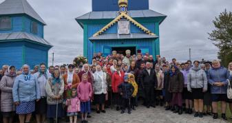 У Чевелі відзначили 150-річчя храму