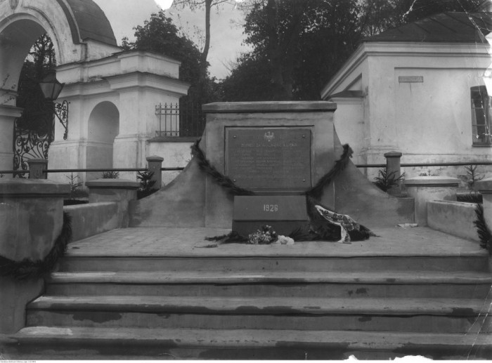 Пам'ятник 20-ти польським воякам, які загинули 16 травня 1919 року при штурмі Луцька, який обороняли сірожупанники Армії УНР, 1926 р.
