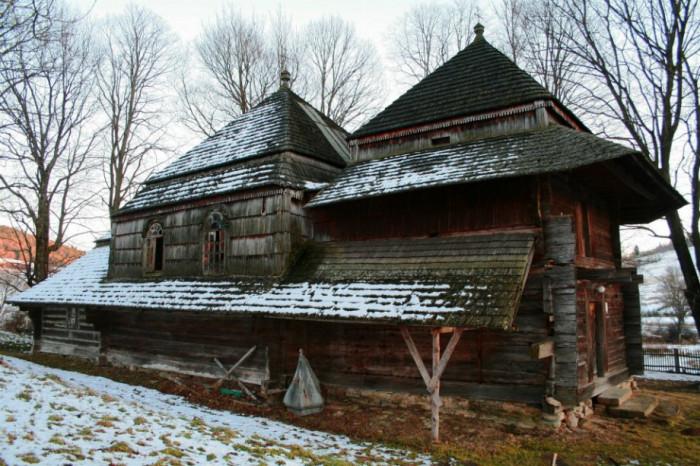 Церква у селі Ліскувате (Liskowate) Бещадського повіту Підкарпатського воєводства