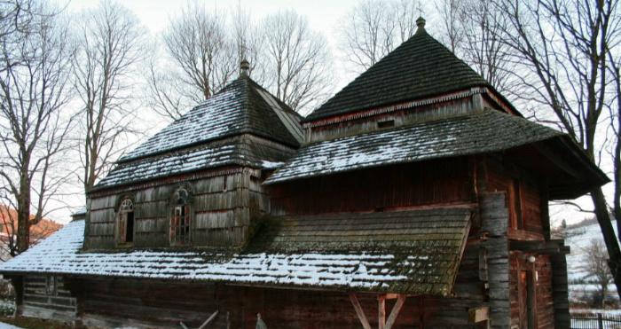 Церква у селі Ліскувате, Бещадського повіту Підкарпатського воєводства