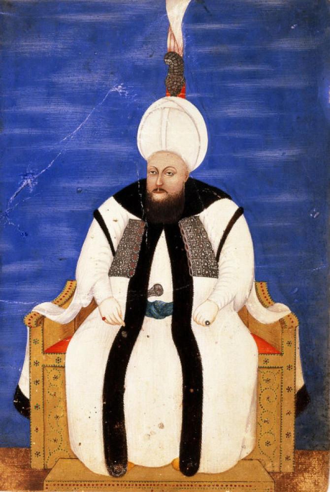 Портрет султана Мустафи ІІІ