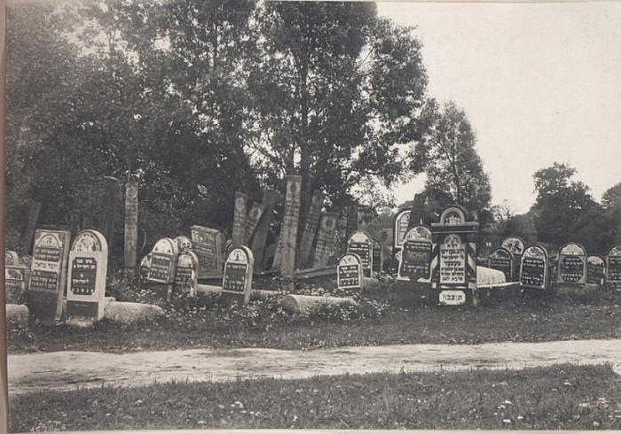 Єврейське кладовище у Володимирі, Перша світова війна