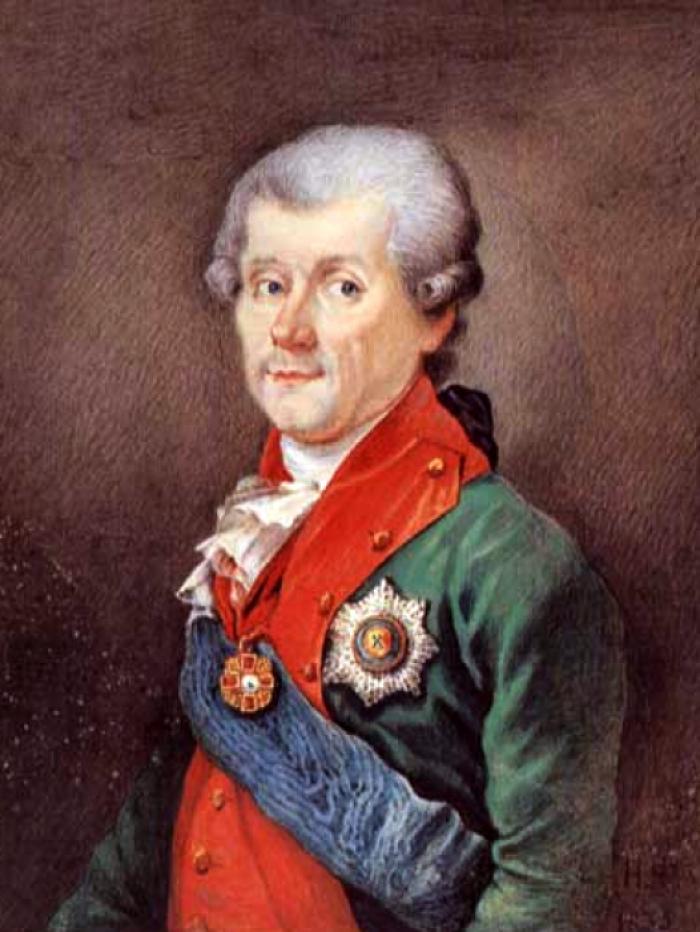 Граф Каховський, командир підрозділів, що захоплювали Володимир. Саме його підлеглі убили цадика