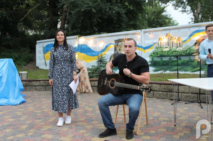 Оксана Скороход і Тарас Хмарук