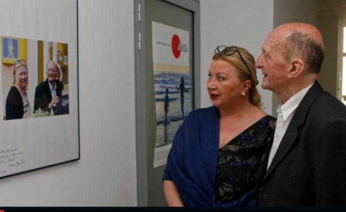 Лариса Івшина та Євген Грицяк були близькими друзями, 2013 р.
