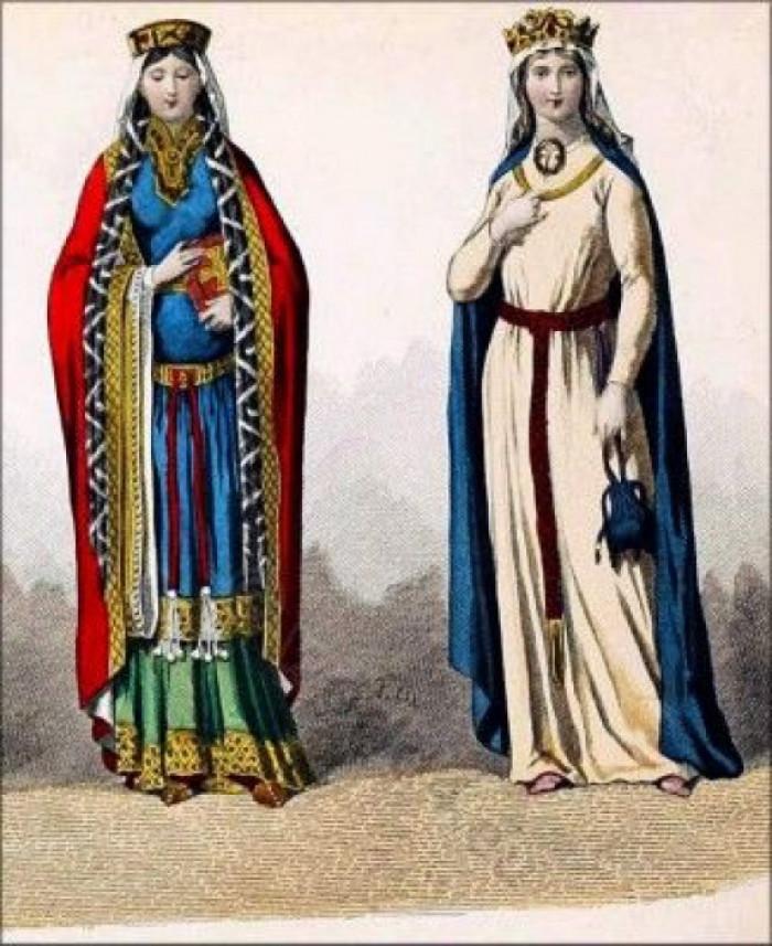 Так вдягалися принцеси Європи у ті часи