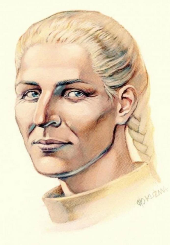 Реконструкція обличчя Інгігерди