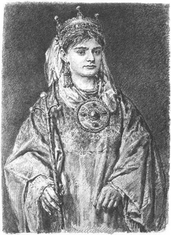 Рикса Лотаринзька – спадкоємиця двох імперій і мати Гертруди
