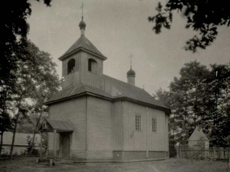 Дерев'яна церква в с. Перекалі, 1929 р.