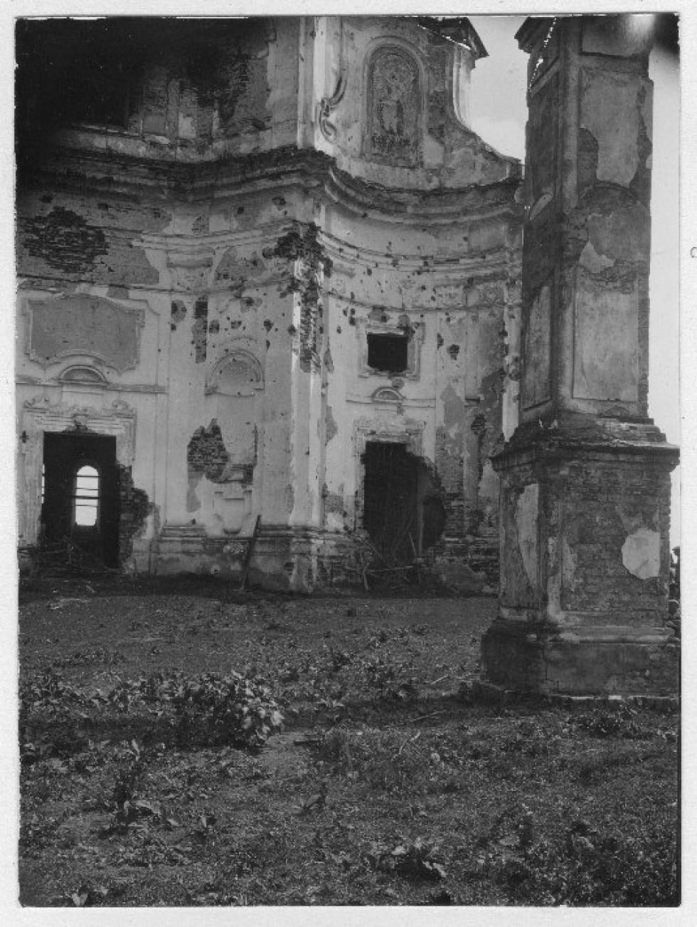 Домініканський костел на фото 1929 року