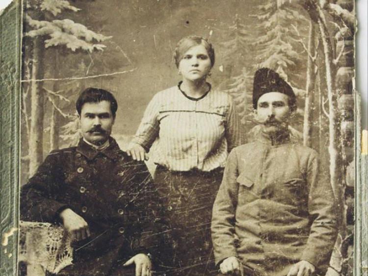 Жителі Любомля на фото початку минулого століття