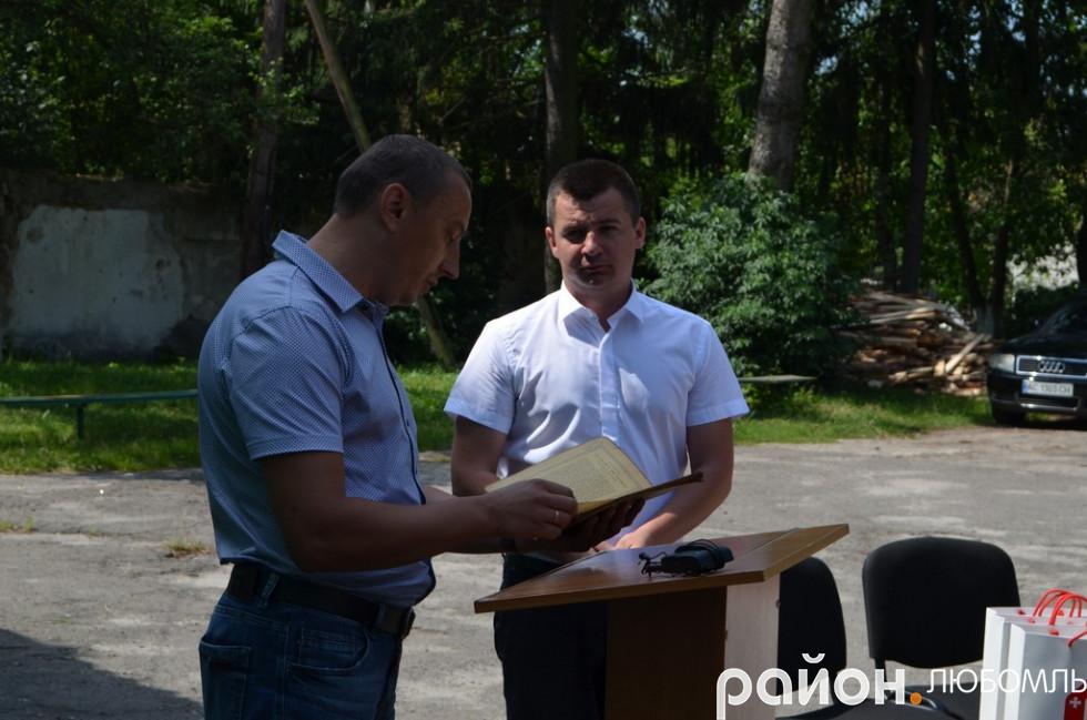 Володимир Крижук та Юрій Фініковський