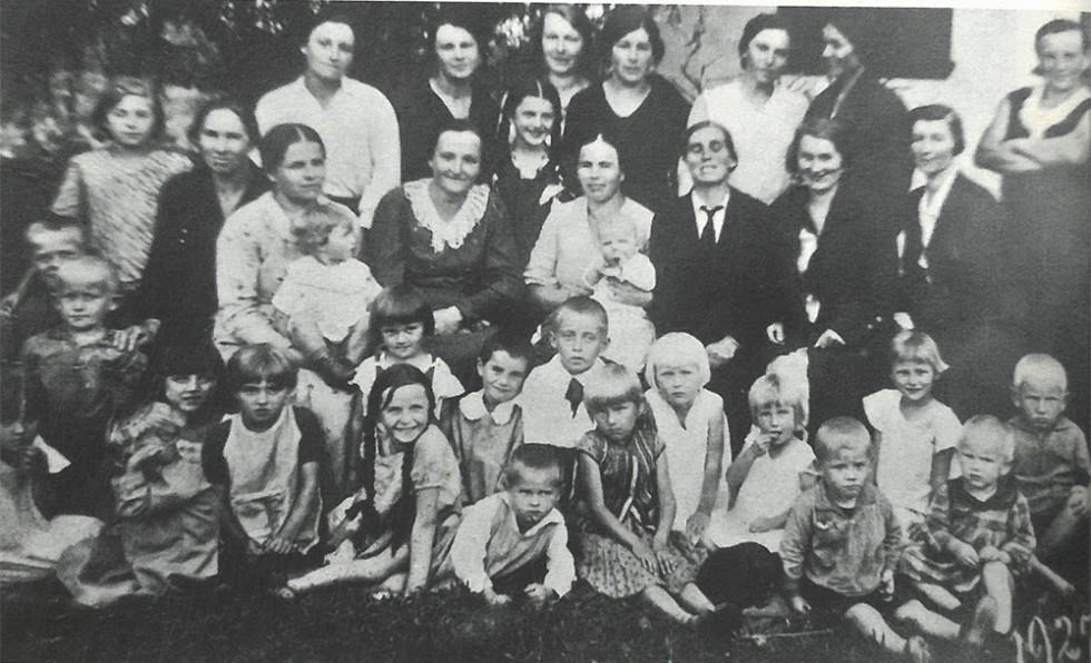 Село Липники. 1935 р.