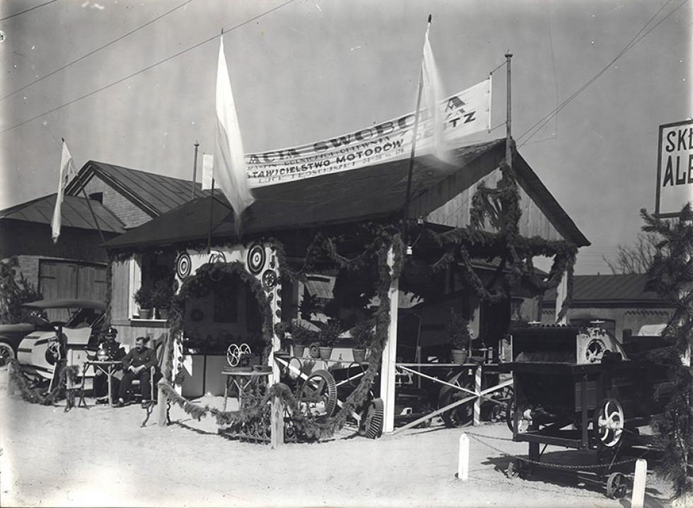 Павільйон «Братів Свобода» на Волинській виставці, 1928 рік