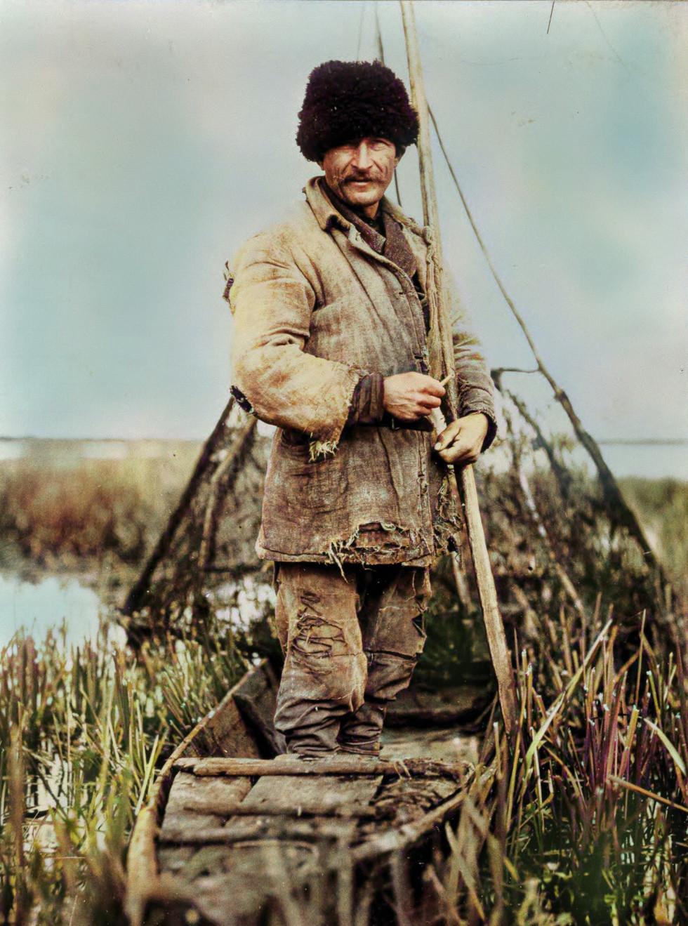 Рибалка на Волинському Поліссі, 1920-1930-ті роки