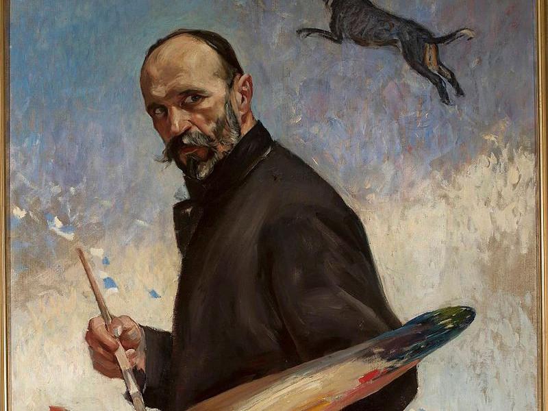Юліан Фалат. Автопортрет, 1896 р.