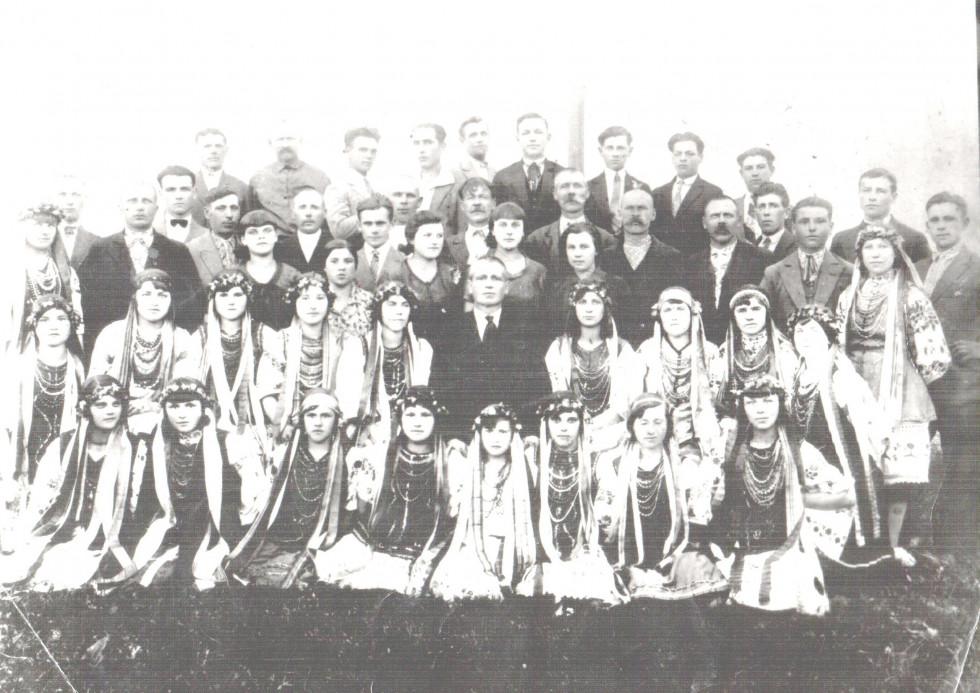 Хор«Просвіти», 1928 рік